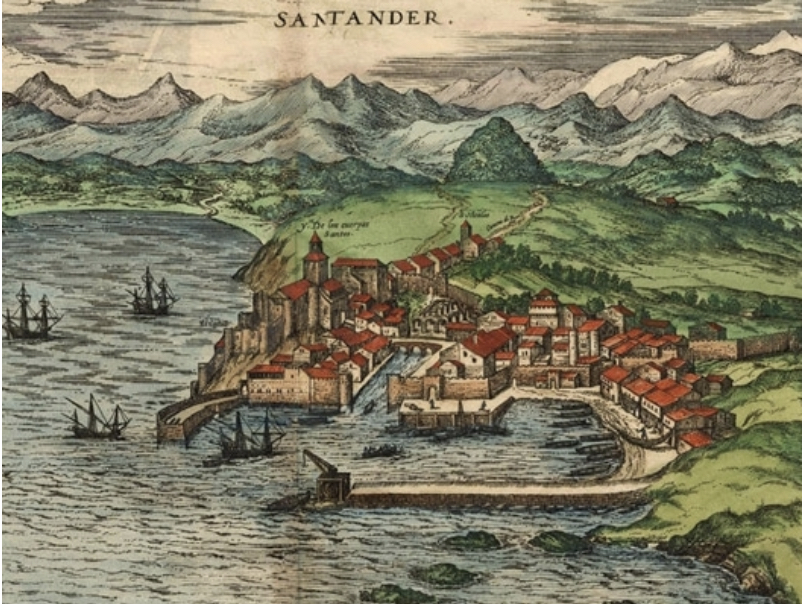 Santander in the 16C (Wikipedia)