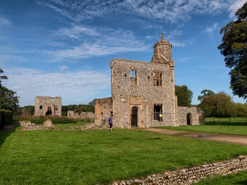 Outer gatehouse of Baconsthorpe Castle