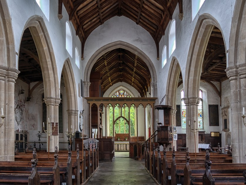 The Church of St Peter and St Paul in Heydon