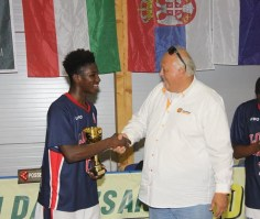 Joel Codner EYBL London United BAsketball Club MVP