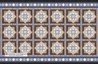 Mosaic Tile Designs | London Victorian geometric tiling