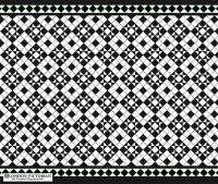 Mosaic Tile Designs | London Victorian geometric tiling