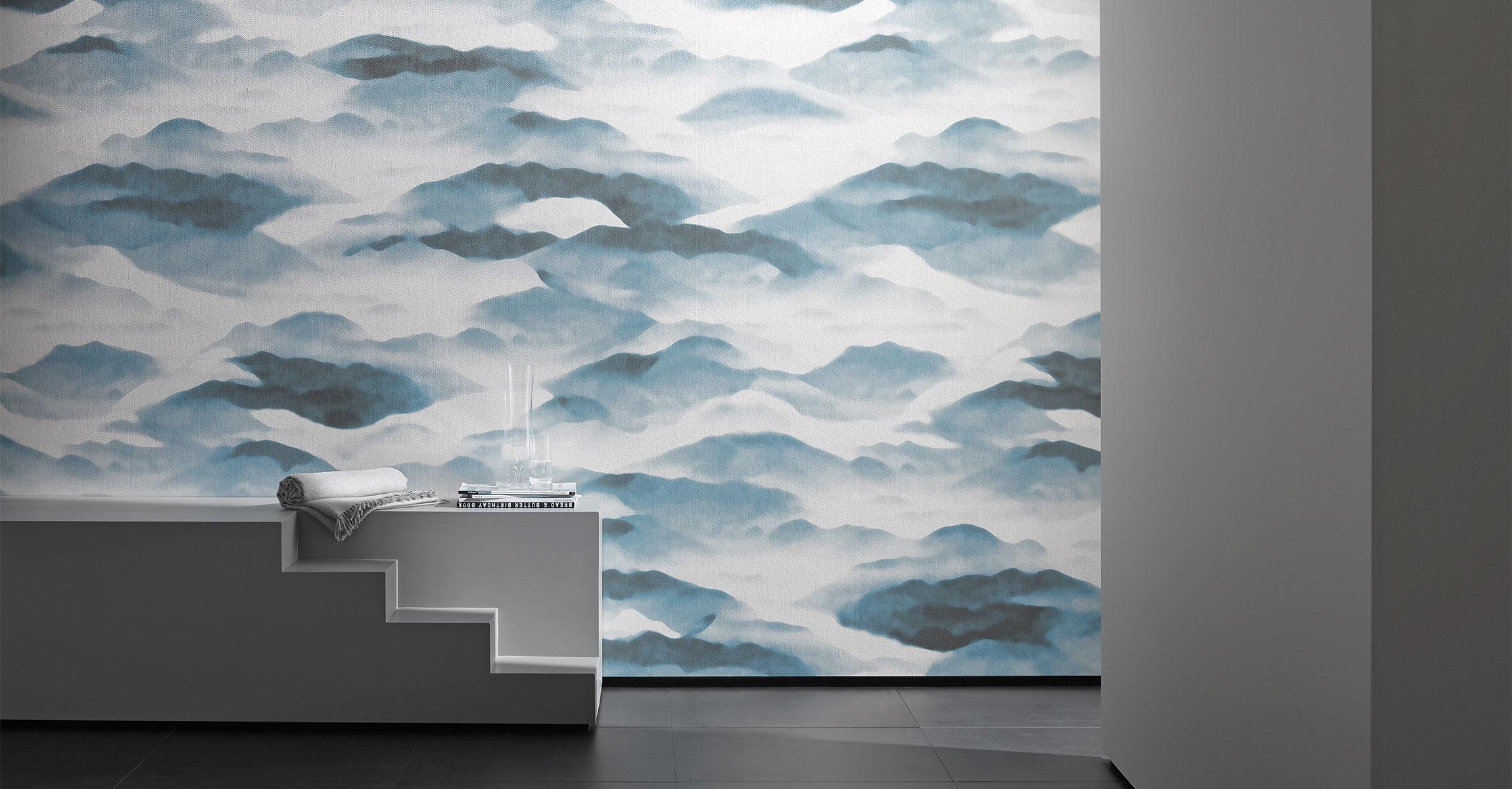 Carta da parati moderna · tessuto da tappezzeria design. Sahco Contemporary Wallpapers London Wallpaper Company