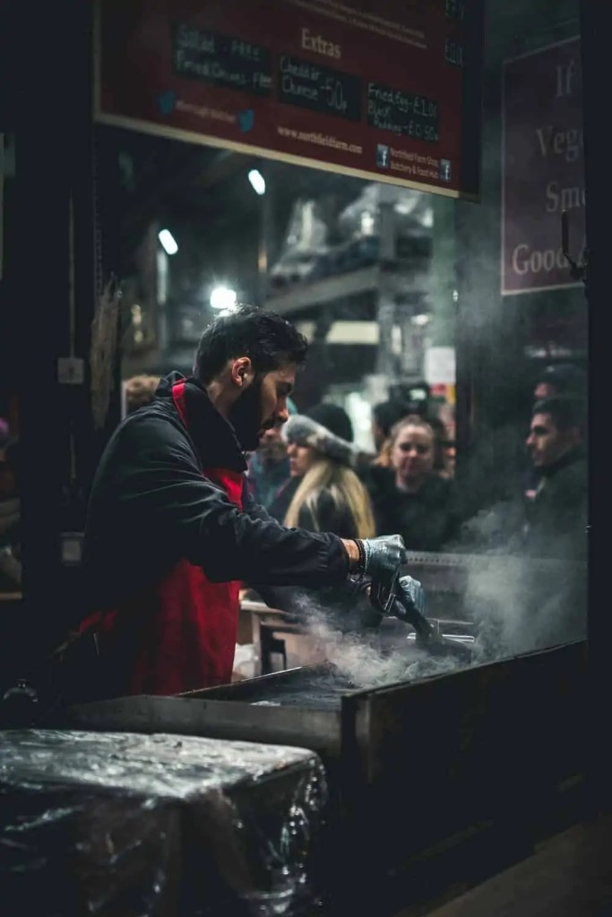 street food borough market londra