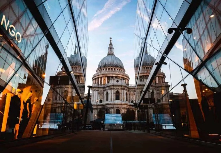 Saint Paul cathedral Londra