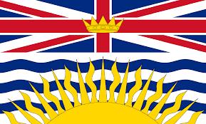 bandiera british columbia