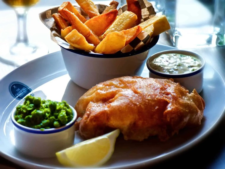 cosa mangiare a londra: fish and chips