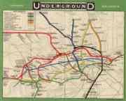 110 anni di mappe raccontano la storia della Metro di Londra