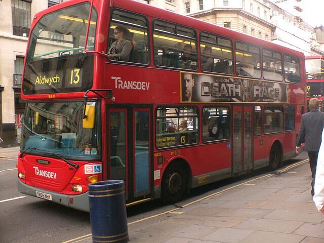 londra çift katlı otobüs