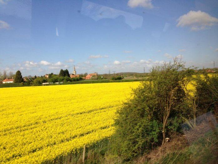 edinburgh tren manzarası