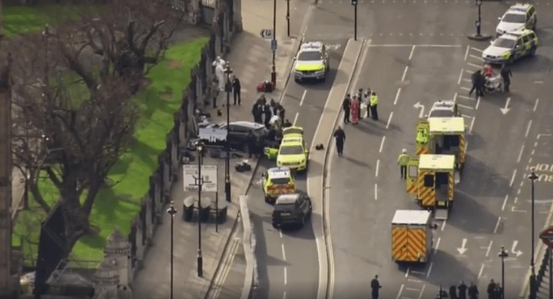 Update/ Pictures/ Atac terorist la Westminster – Londra