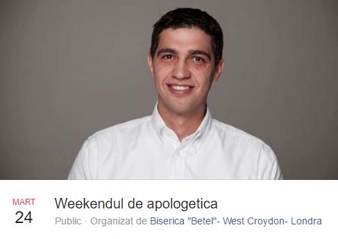 Apologetica cu Vlad Criznic