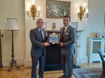 Turkey's London Ambassador Ümit Yalçin, Ekrem İmamoğlu