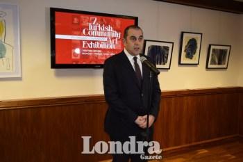 Then Turkish consulate general in London Çınar Ergin
