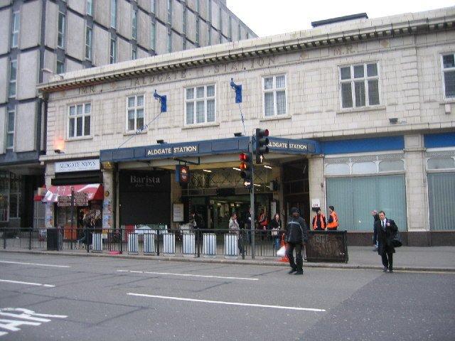 metropolitana di aldgate