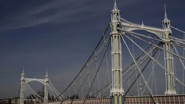 Albert Bridge sul Tamigi