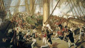 Il funerale dell'ammiraglio Nelson