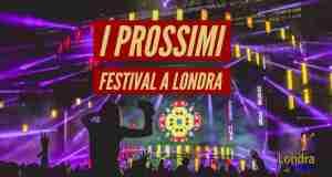 festival a londra