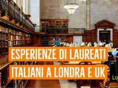 laureati italiani a londra