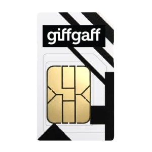 giffgaff SIM Only on goodybag 3GB with Unlimited mins & texts; 3GB of 4G data. £8 Topup.