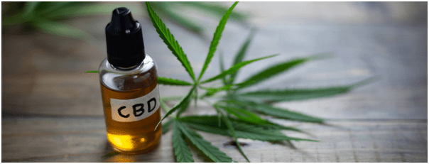 CBD Recovery Oil Post workout