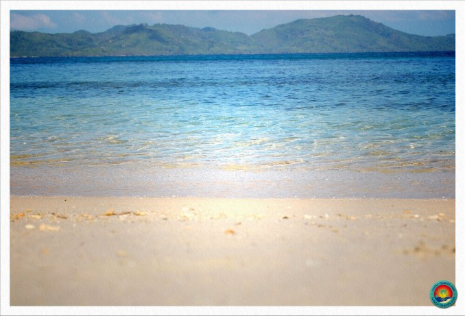 perfektes Wasser vor Daracotan Island