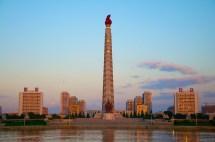 Tower Of Juche Idea Pyongyang North Korea