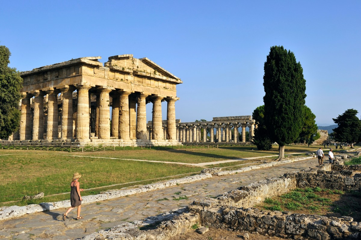 Paestum Travel Campania Italy Lonely Planet