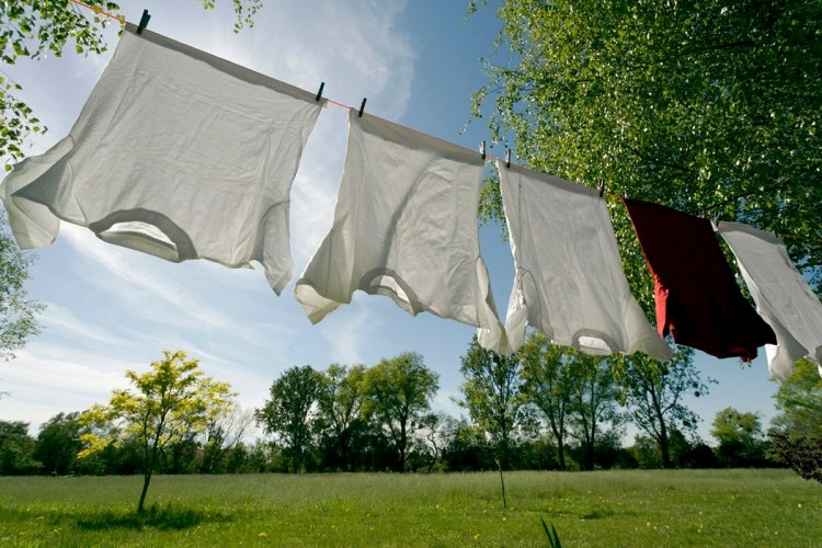 Airdry your clothes save energy