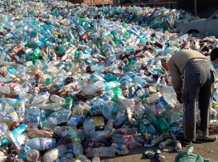 Avoid plastic bottle waste