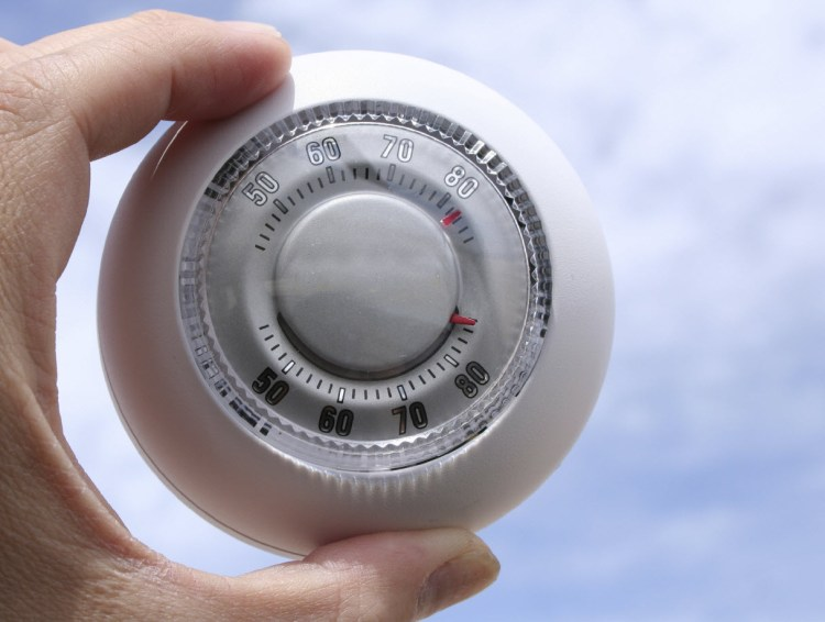 Lower the thermostat and use less