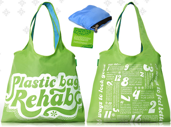 Use recycled shopping bags