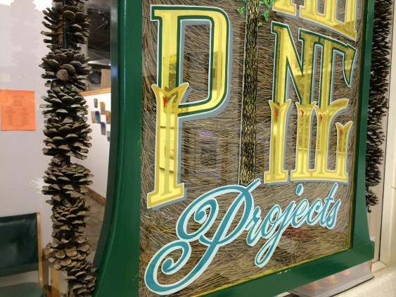 Gilding on Glass with Hand Lettering