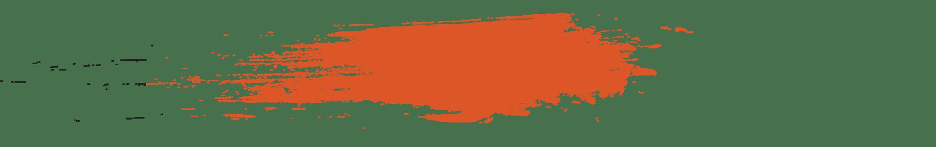 paint splatter orange - Lone Prairie Camp