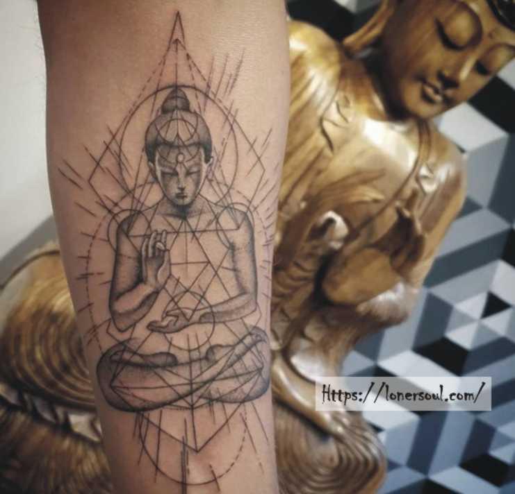 buddhism-tattoo-meditation-design