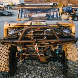 '76 Bronco Frame-Off Front View