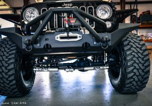 Custom Jeep Wrangler Hemi Conversion Front Bumper