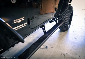 Custom Jeep Wrangler Hemi Conversion Running Board