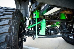 Custom Hummer H2 Lifts and Axle