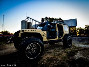 USMC 7.0 L Hemi Jeep Wrangler Full View