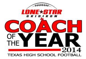2014 Lone Star Gridiron Texas High School Football Coach of the Year Award