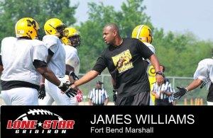 James Williams Fort Bend Marshall Football