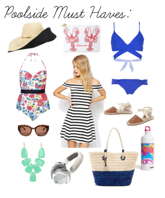 Poolside Style, Poolside Must Haves, Beach Style