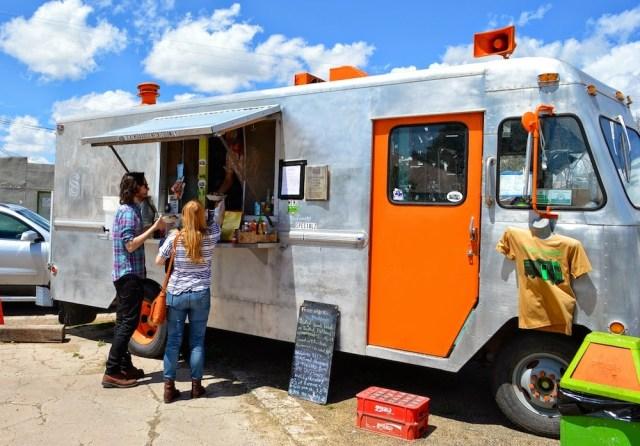 Food Shark Food Truck, Marfa Texas