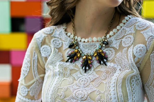 Burdlife necklace, the lone star looking glass, yoanna baraschi voodoo tunic dress, burdlife houston