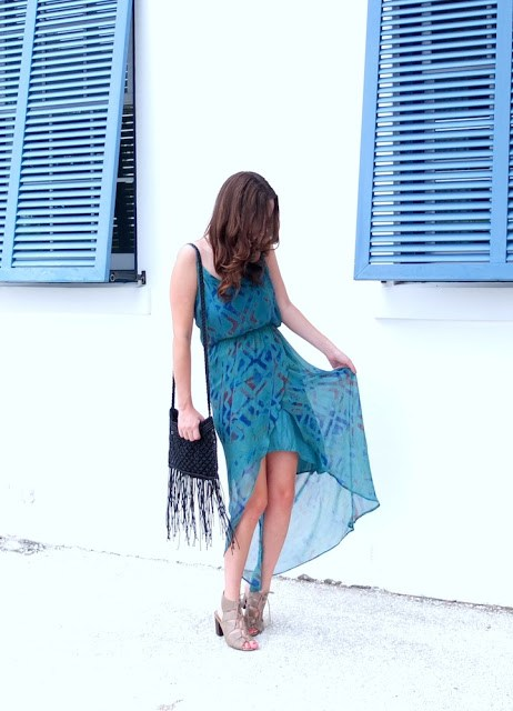 mulberry muse, mulberry muse houston, blue flowy sundress, alys beach, 30a, 30a fashion, alys beach shopping