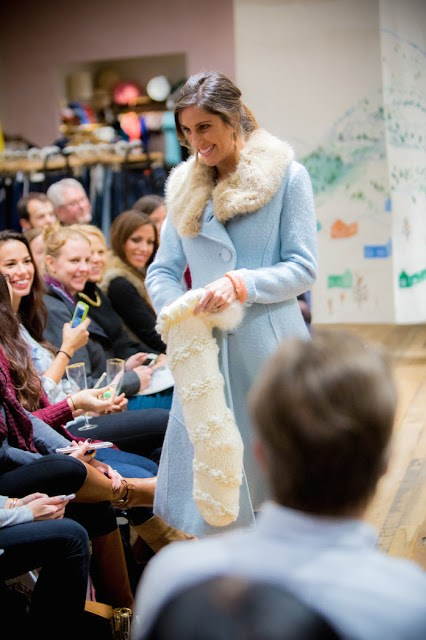 Anthropologie Holiday Fashion Show 2015, Anthropologie Light Blue Coat, Light blue Coat with white Fur Trim, blue coat with fur trim, anthropologie winter coat, blue winter coats