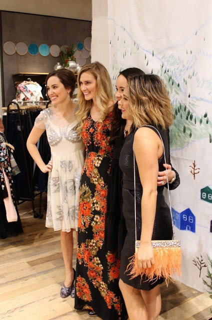 Anthropologie Holiday Fashion Show 2015, Anthropologie Highland Village