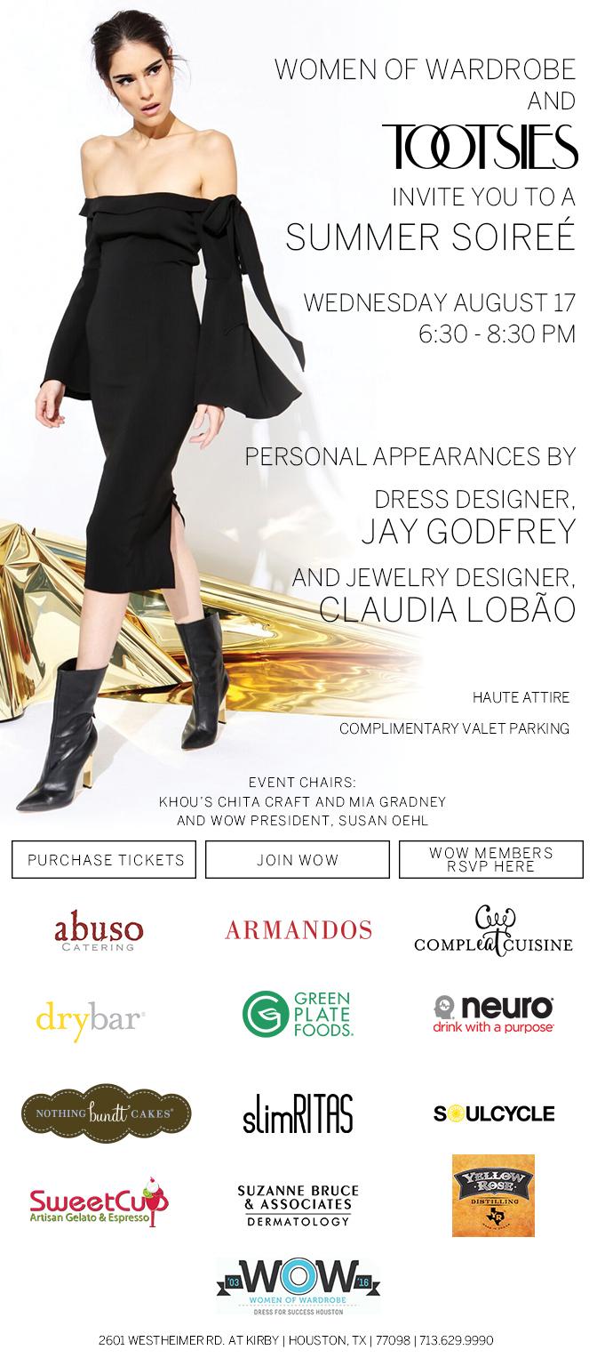 women of wardrobe houston tootsies event 2016