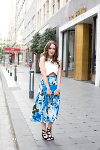 blue-floral-paper-crown-anthropologie-skirt